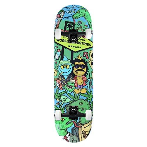 Industries Skateboards Complete World - World Industries Skateboard Complete Loathing 8.2