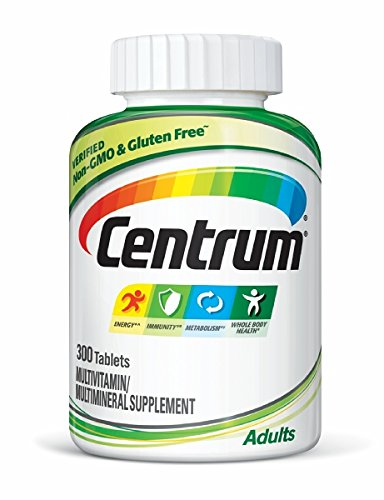 Centrum Adult (300 Count) Complete Multivitamin / Multimineral Supplement Tablet, Vitamin D3, B Vitamins, Iron, Antioxidants