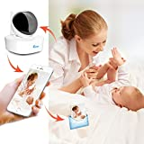InCliick R2 Wireless Video Baby Monitor System With WiFi IP Digital Security Camera, HD 960P, Two Way Audio, Motion Detection, Alarm, Record, Night Vision, Pan Tilt, InCliick app for iOS Android Review