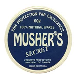 Musher's Secret 60gr - Natural Paw Protection for Your Dog by Dog Like Nature [Pet Supplies]