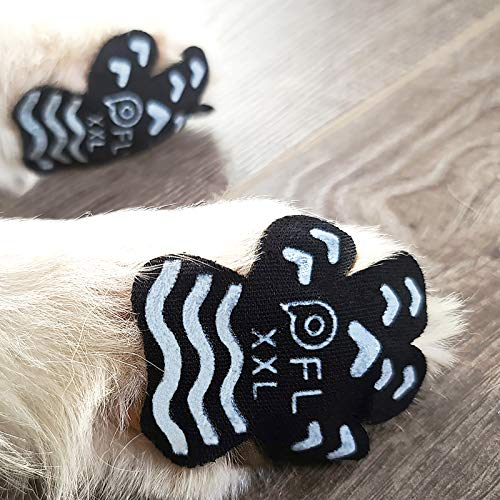 Anti Slip Paw Grips Pads,Provide Dog Foot Traction & Paw Protection on Hardwood Floor,for Senior Dog with Mobility Issue