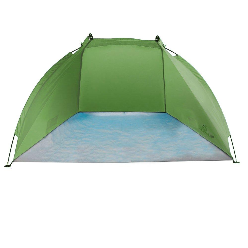 Outdoorer tente de plage Helios, vert – UV 60, ultralégère, rangement ultracompact vert - UV 60 0728795045937