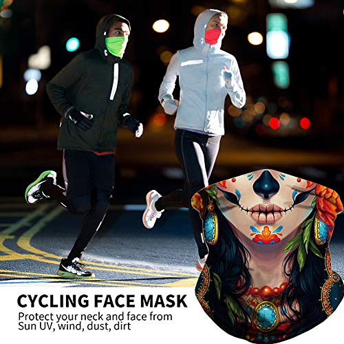 Cooling Neck Gaiter Scarf Face Cover Protection for Women Men Outdoor Sports
