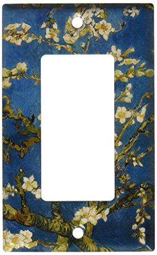 Art Plates - Van Gogh: Almond Blossoms Switch Plate - Single Rocker