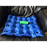 Movilidad Médico Hinchable Nailon PVC Cojín Tamaño: 42 x 42cm &#x 2606;&#x 2606;BOMBA SIN &#x 2606;&#x 2606;&#x 2606