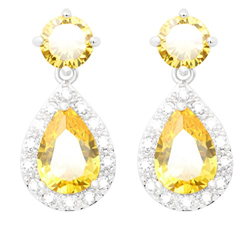Yellow Austrian Crystal - 1