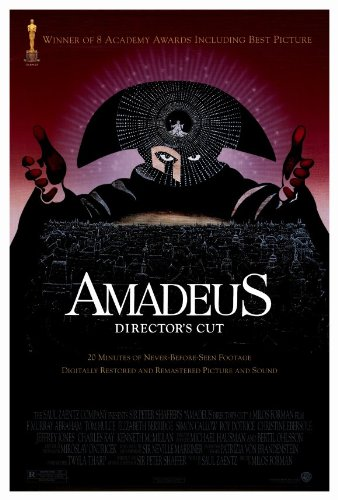 Amadeus Movie POSTER 27x40 by postersdepeliculas