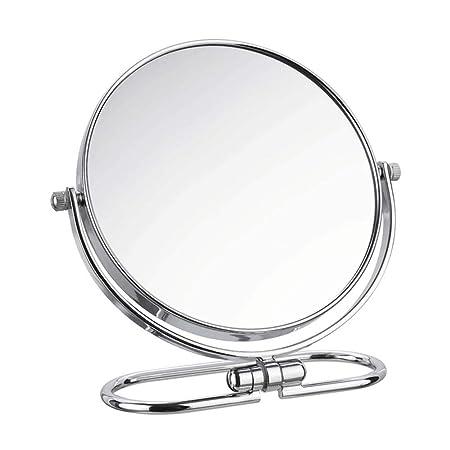 weyb Espejos de Mesa Plegable Espejo De Pared De Aumento Giratorio ...