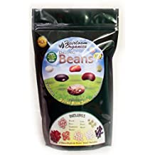 Heirloom Organics NON-GMO Drying Bean Seed Pack-7 Varieties Non-Hybrid Dry Bean Seeds-Hermetically Sealed for Long Term Storage