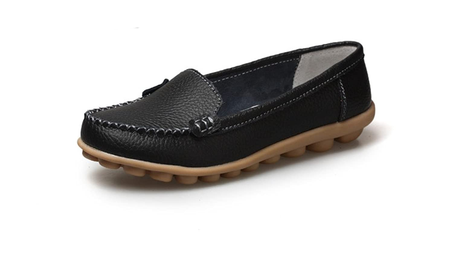 193c790295c free shipping Lucksender Womens Comfort Driving Flat Loafers Shoes ...