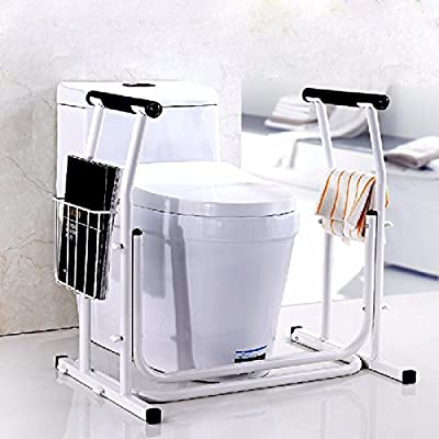 OLQMY-Old man friend The elderly toilet up the armrest, bathroom shower help frame, disabled pregnant women non-slip handle