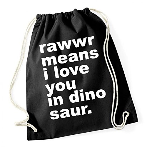 Rawwr - Means I Love You Gymsack Black Certified Freak
