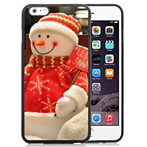 New Beautiful Custom Designed Cover Case For iPhone 6 Plus 5.5 Inch With Let It Snow Phone Case
