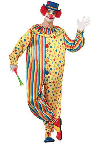 Forum Novelties Men's Spots The Clown Costume, Multi, X-Large -