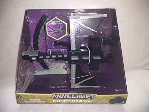 Amazon com: Minecraft Ender Dragon Large Toy With Easy To Attach