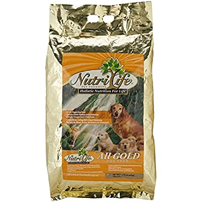 NutriLife All Gold Chicken Dog Food 15-Pound