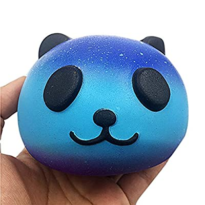 Yamart Toys for Relax,Starry Cute 10cm Panda Baby Cream Scented Slow Rising Kids Toy: Toys & Games