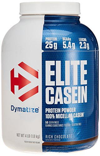 Dymatize Nutrition Dymatize Elite Casein, Chocolate, 4 Pounds