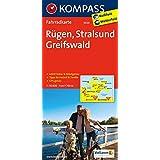 Rügen - Stralsund - Greifswald: Fahrradkarte. GPS-genau. 1:70000 (KOMPASS-Fahrradkarten Deutschland, Band 3020)