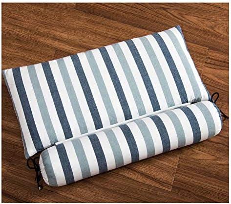子宮頸部枕、お菓子の形 ソバ理学療法首牽引枕 多機能 取り外し可能な正方形/円筒枕 、贈り物,D,L