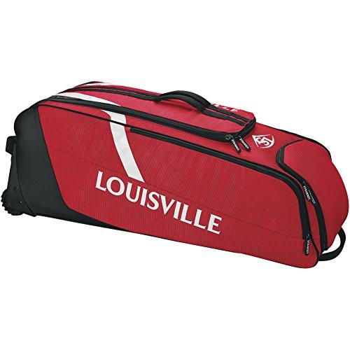 Louisville Slugger Select Rig Wheeled Bag - Scarlet