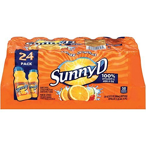 SunnyD Tangy Original Orange Flavored Citrus Punch, 24 Fluid Ounce by Sunny D