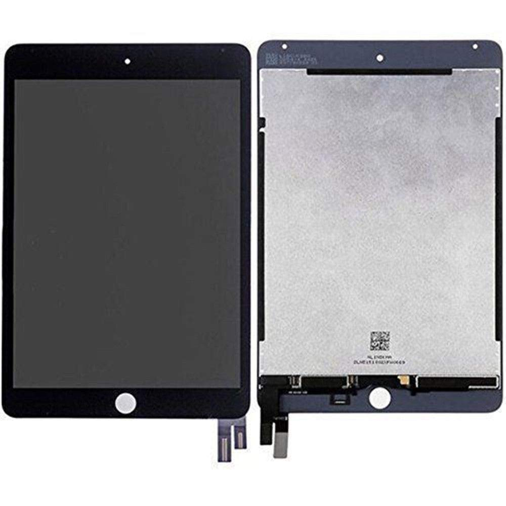 BESTeck LCD Replacement Screen Display Compatible for Apple iPad Mini 4 A1538 A1550 with Tools (Black)