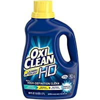 Deals on OxiClean HD Laundry Detergent, Sparkling Fresh, 40 Oz