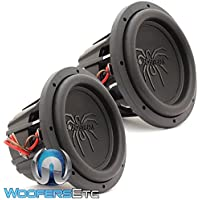 Pair of Soundstream T5.102 10 1800W RMS Dual 2-Ohm T5 Series Subwoofers