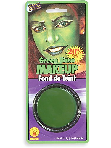 Rubie's Costume Co. Grease Paint Makeup-Green Costume, Standard,