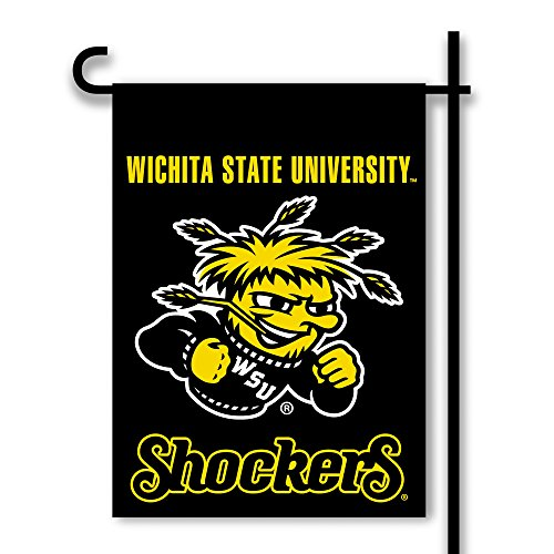 NCAA Wichita State Shockers 2-Sided Garden Flag, Team Color