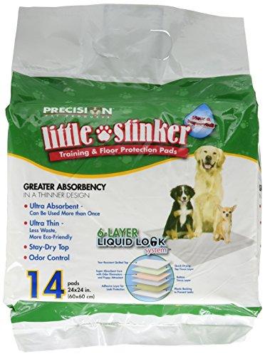 Precision Pet Little Stinker Housebreaking Pads 14-Pack