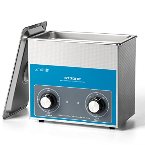 GT 3L Ultrasonic Cleaner, Stainless Steel Ultrasonic Cleaner Transducer...