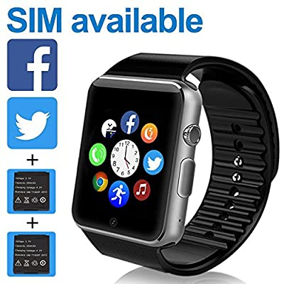 smart watch phone / Bluetooth 4.0 / easily connect / make calls / support SIM / TF??best choice for Christmas gifts