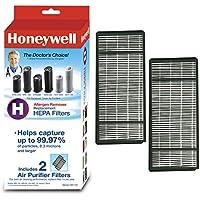 Honeywell True HEPA Air Purifier Replacement Filter 2 Pack, HRF-H2 / Filter (H)