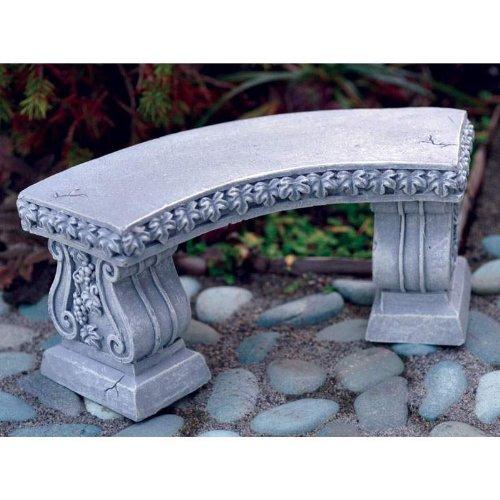Curved Garden Bench (Fiddlehead Fairy Village - Miniature Curved Garden Bench)