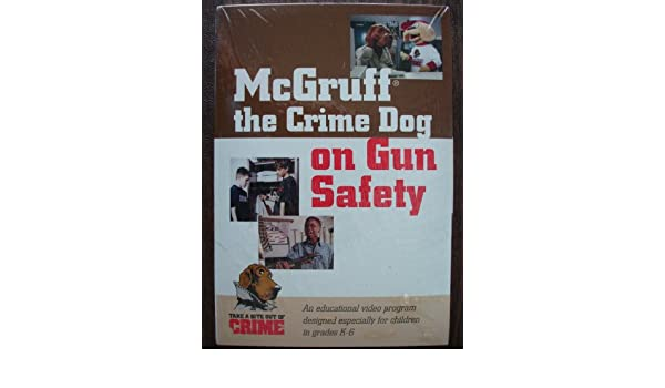 amazon com mcgruff the crime dog on gun safety other products