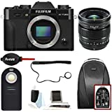 Fujifilm X-T20 Camera Body (BL)+XF 16mm Lens + Focus Backpack & Accessories