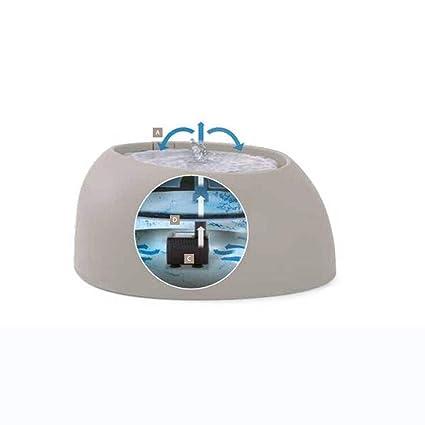 Ab Pet Hair Dryer Fuente de Agua Gatos y Perros Dispensador de Agua Automático para Mascotas