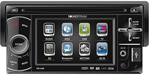 Soundstream VR450 Drop Down TFT LCD product image