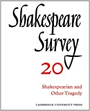 Shakespearean and Other Tragedy, , 0521523575