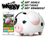 Wiggy Piggy Bank (Spotty): Smart Speaking Piggy Bank and Task Tracker