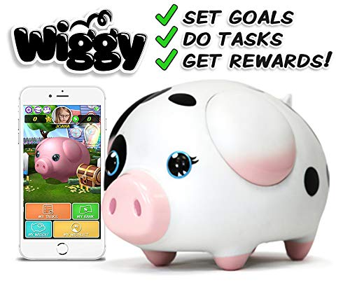 Wiggy Piggy Bank (Spotty): Smart Speaking Piggy Bank and Task Tracker by Wiggy (Image #7)