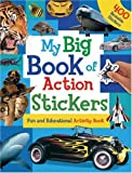 My Big Book of Action Stickers, Hinkler Books Staff, 1741576016