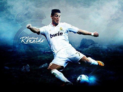 Cristiano Ronaldo Poster (Cristiano Ronaldo poster 32 inch x 24 inch / 17 inch x 13 inch)