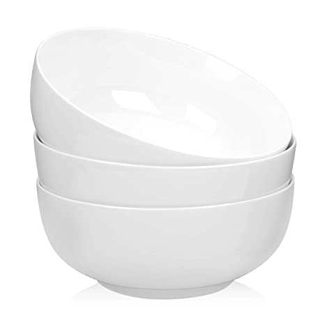 Amazon.com: TGLBT - Cuenco de porcelana para ensalada y sopa ...