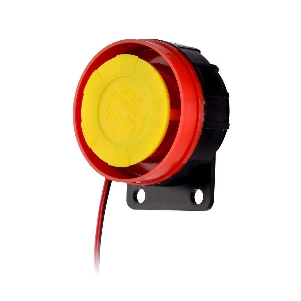 Alarma de la Motocicleta, Antirrobo de Seguridad de Control Remoto Sirena, para Yamaha y la Mayoría de Las Motocicletas: Amazon.es: Coche y moto