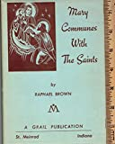 img - for Mary Communes With the Saints book / textbook / text book
