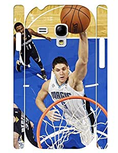 Artistical Collection Mobile Phone Case Mighty People Basketball Player Printed Solid Case Cover for Samsung Galaxy S3 Mini I8200 (XBQ-0103T) wangjiang maoyi