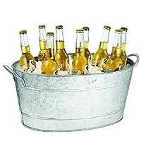 Enfriador de vino Tablecraft IR 4033, cubo 23 x 14,5 x 9,5 de plata